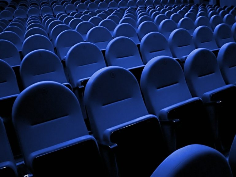 Cinema Movie Theater Blue Seats