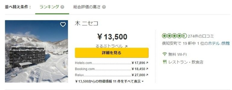 japanese-Trip Advisor Ranked 1