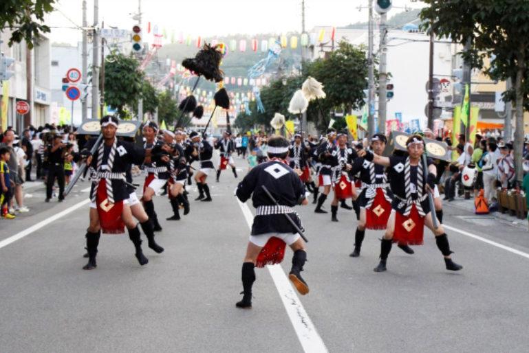 Kutchan Town Potato Festival Jaga Matsuri 2016 2 Street Dancers