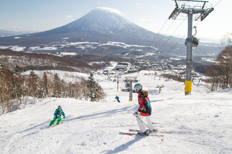 Niseko Empty Slopes Spring