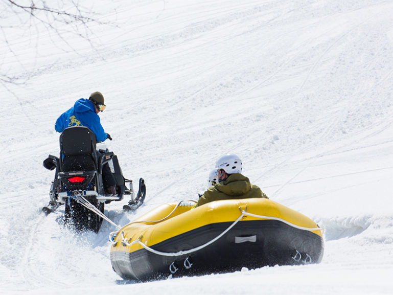 Snow Raft