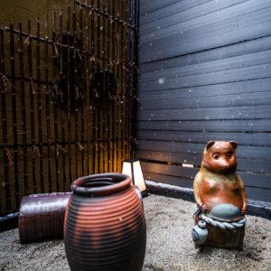 Private Onsen Outdoor Garden