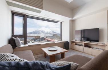 Ki Niseko Yotei Side 2 Bedroom Living Room Winter Low Res