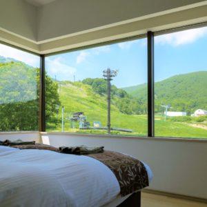 1ベッドルームリゾートビュー客室一例