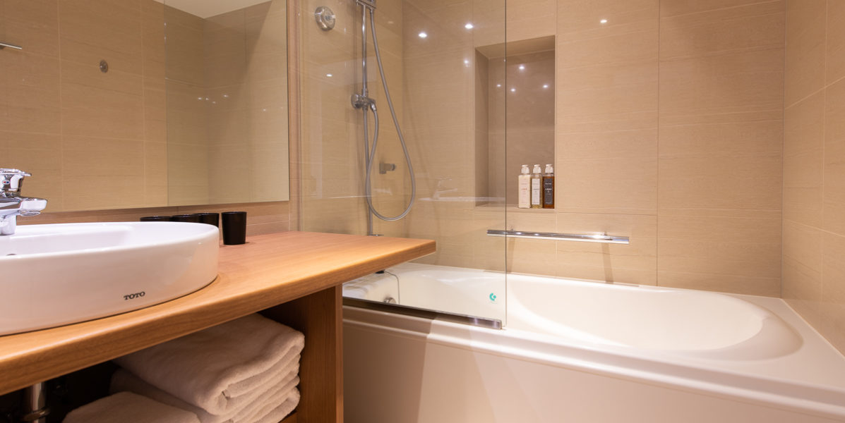 Ki Niseko 1 Bedroom Deluxe Bathroom Low Res 2