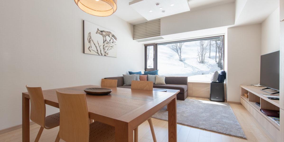 Ki Niseko 2 Bedroom Resort Side