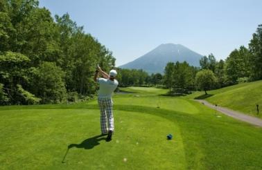 ニセコのゴルフ場
