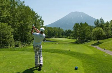 Tee off in Niseko